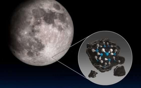 C'è acqua sulla Luna: ecco cosa ha rivelato la NASA