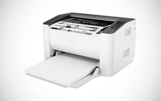 La stampante HP Laser 107a a -29% su eBay