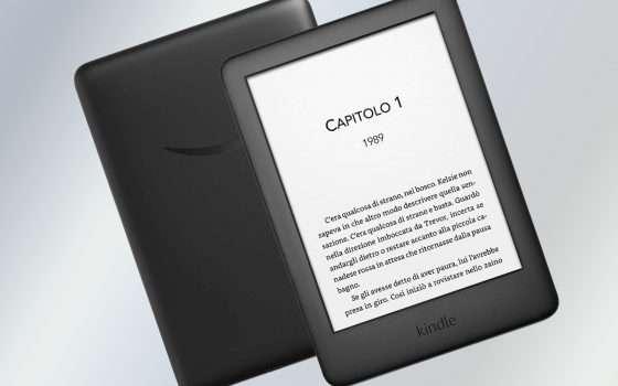 Amazon Kindle non è mai costato così poco