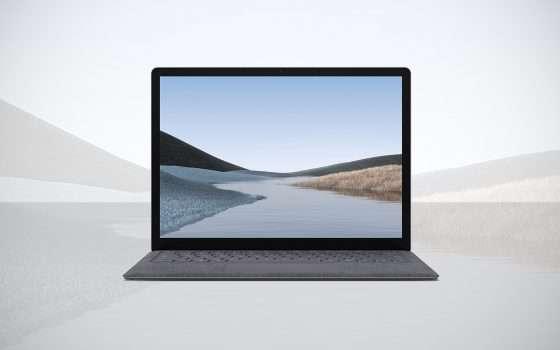 Surface Laptop 3 di Microsoft in offerta a € 899