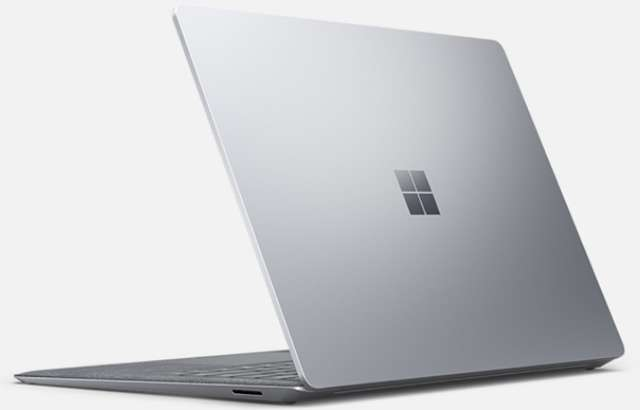 Il Surface Laptop 3 di Microsoft da 13,5 pollici