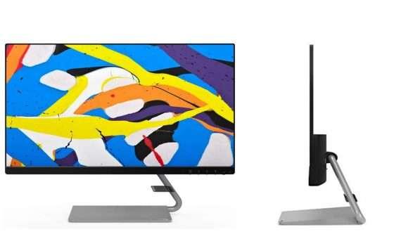 Lenovo Q24i Monitor in offerta: un tocco di classe a casa e in ufficio