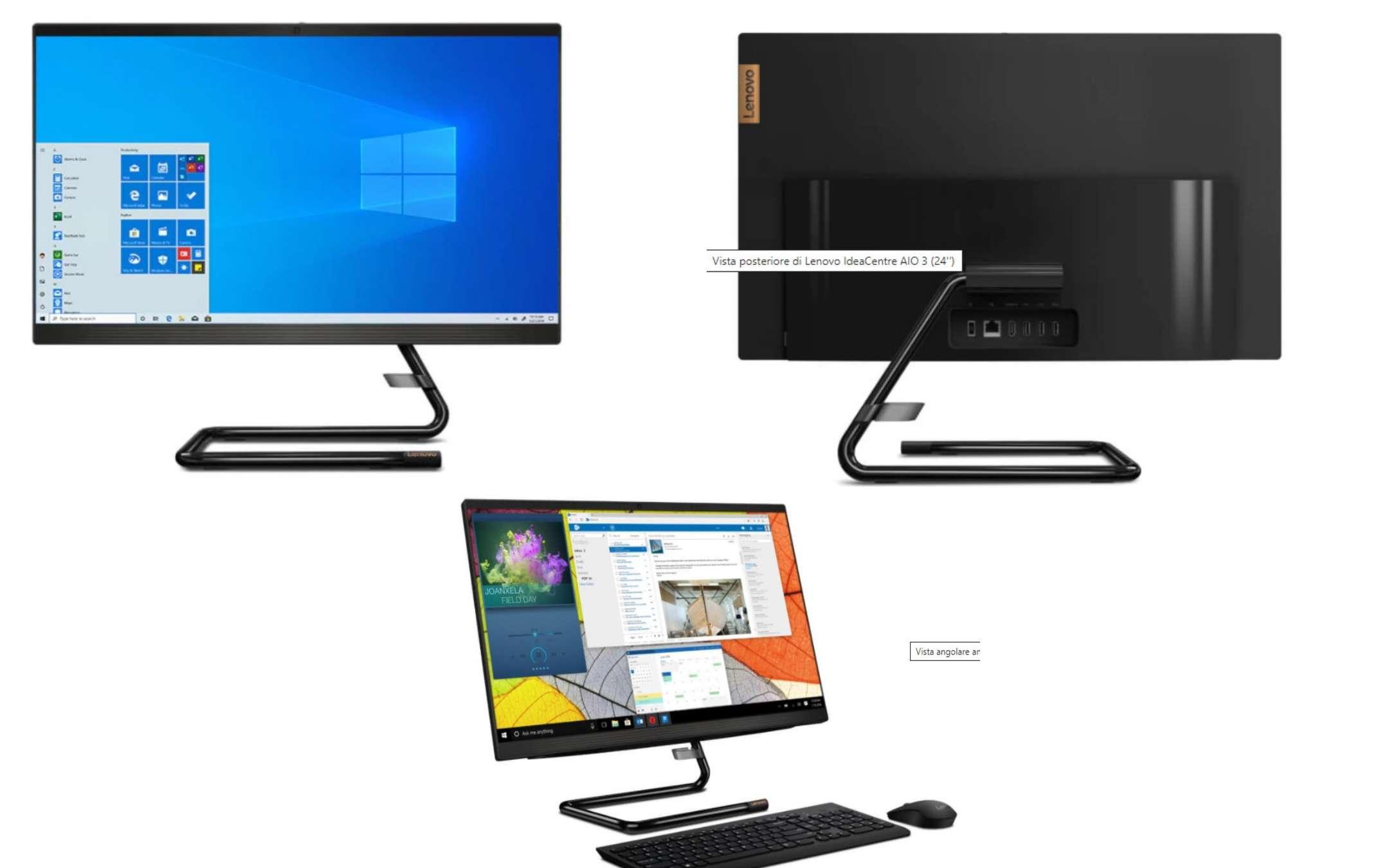 New Lenovo IdeaCentre 3 AIO on offer on Amazon