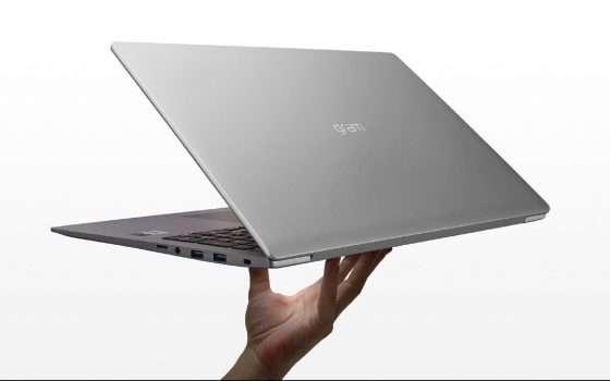 Ultrabook LG Gram 15Z90N a 299€ in meno su Amazon