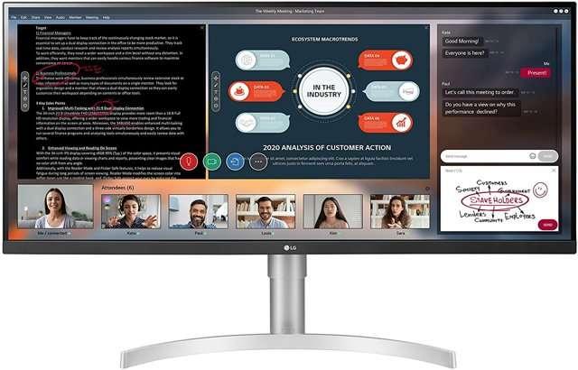 Monitor UltraWide LG 34WN650