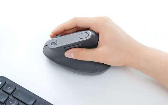 Il mouse Logitech MX Vertical in sconto su Amazon