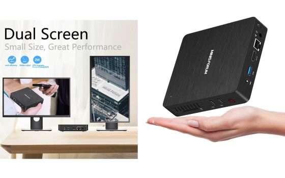 Mini PC fanless: solo 103€ su Amazon