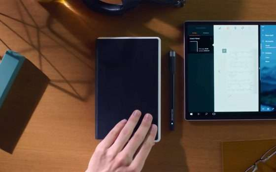 Lo Smart Writing Set Ellipse di Moleskine in sconto