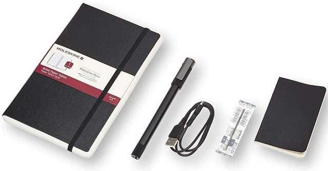 Il Moleskine Smart Writing Set Ellipse oggi in offerta su Amazon