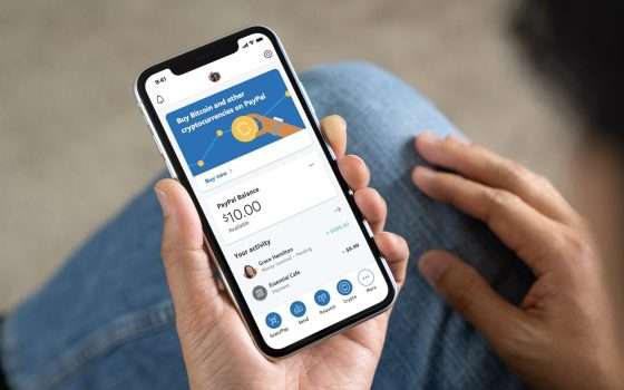 Con PayPal si gestiranno Bitcoin e altre crypto