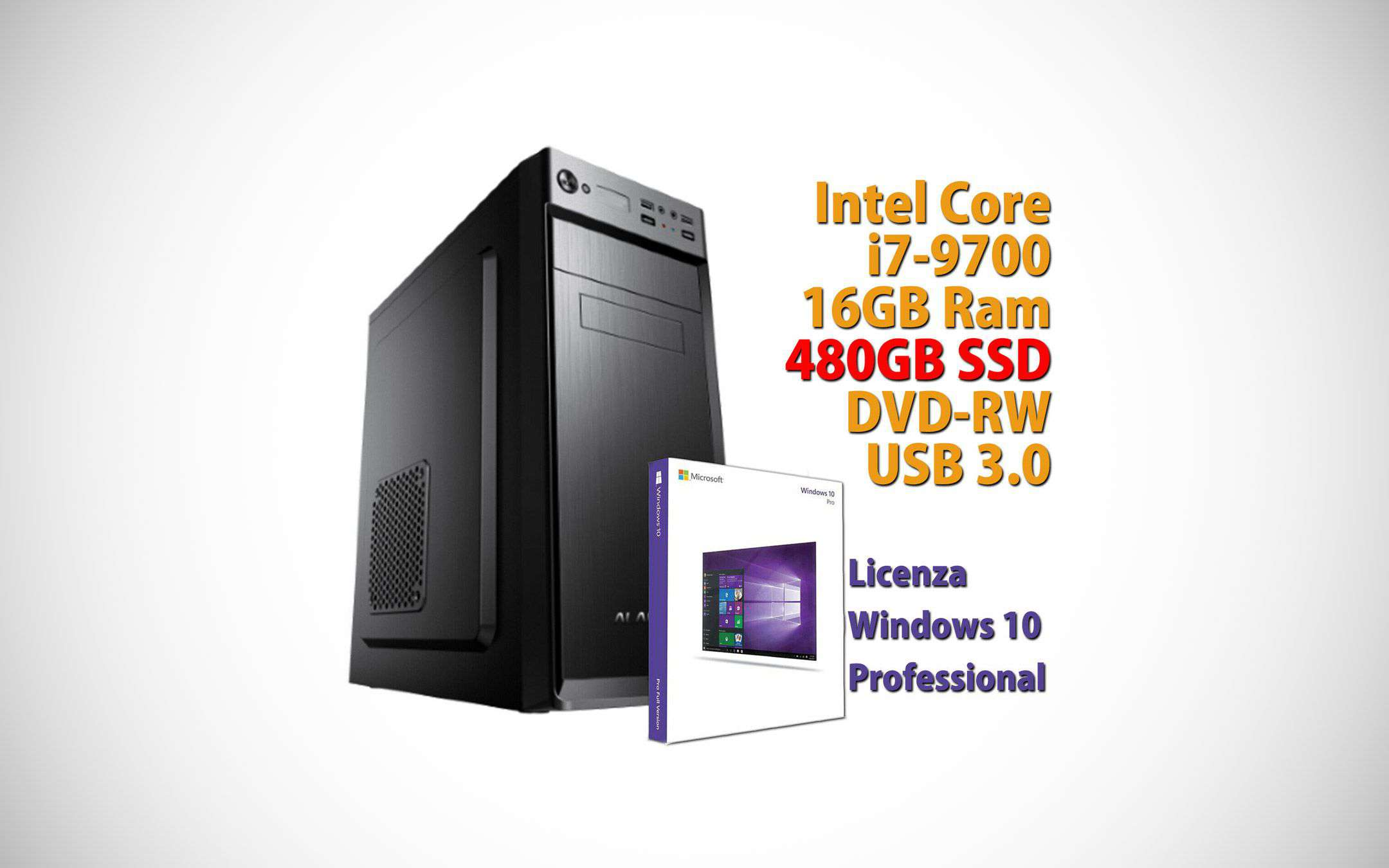 EBay offers: PC with Intel Core i7 and 16 GB of RAM