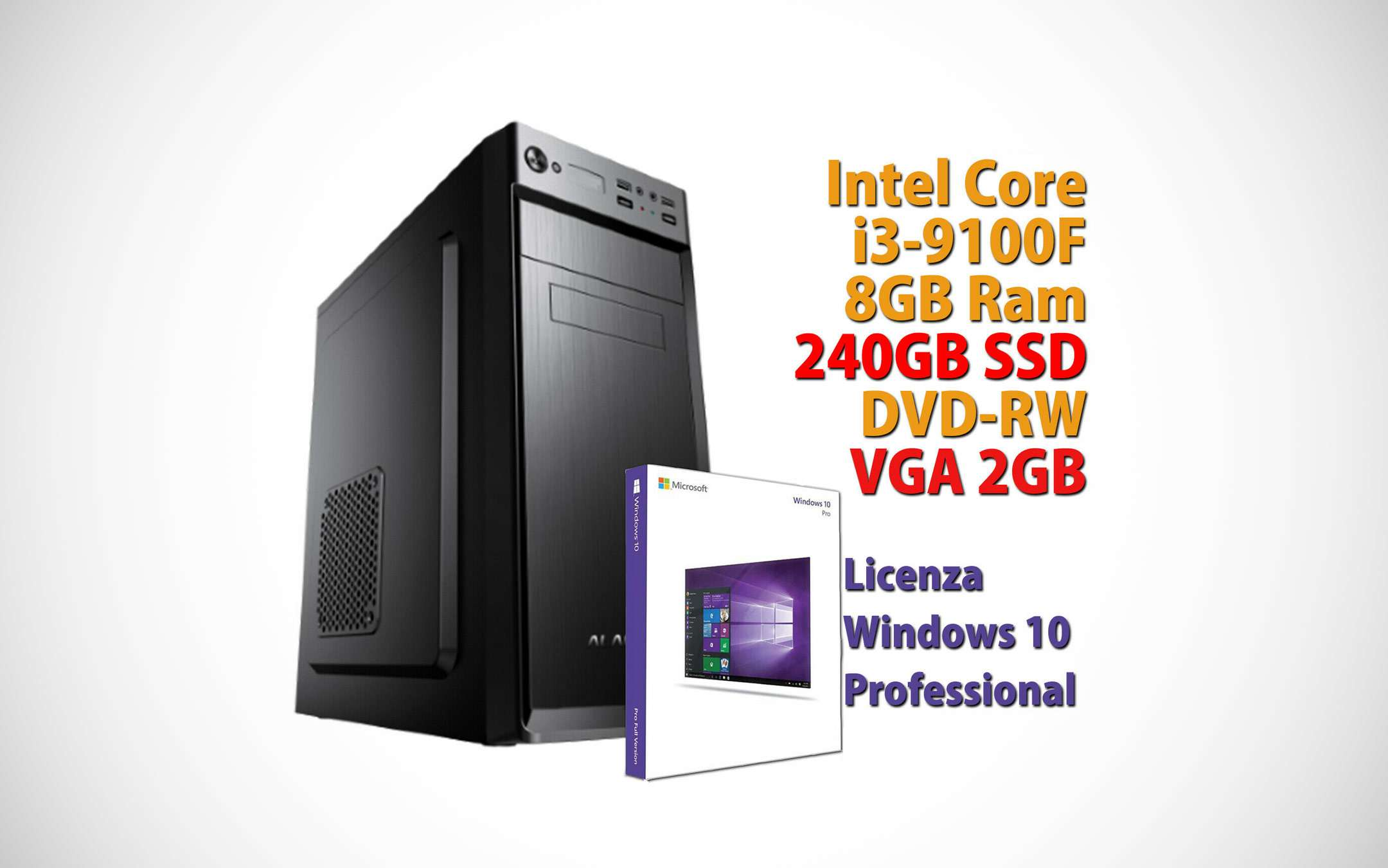 A complete desktop PC for just € 315.90