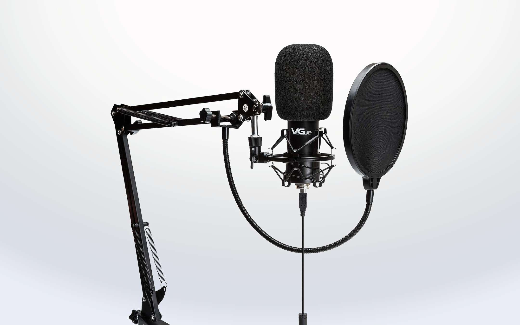 Podcaster becomes one: here is a microphone on occasion