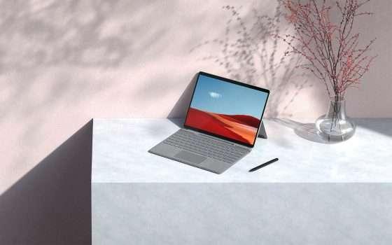Il nuovo Surface Pro X arriva oggi in Italia