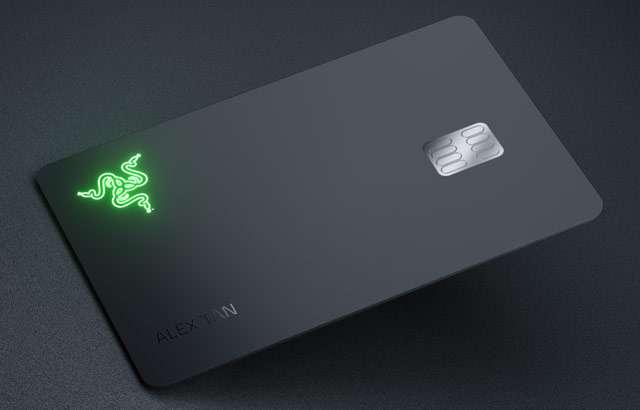 La carta di credito Razer Card