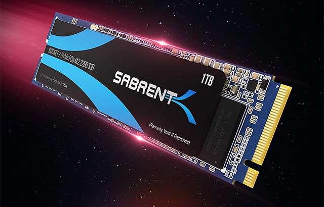 L'unità SSD Sabrent Rocket 2280 da 1 TB