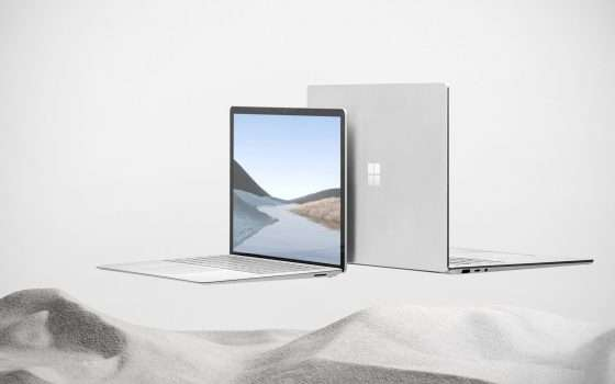 Surface Laptop 4, due modelli con modem LTE?