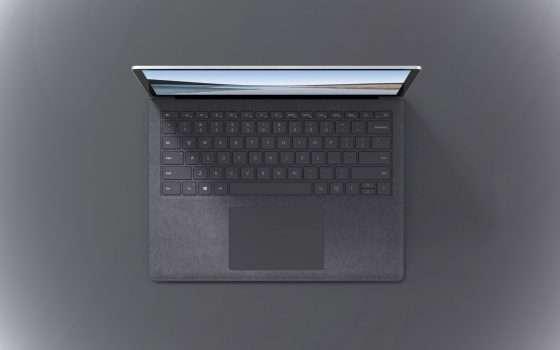 Surface Laptop 3 a 899 euro invece di 1169 euro