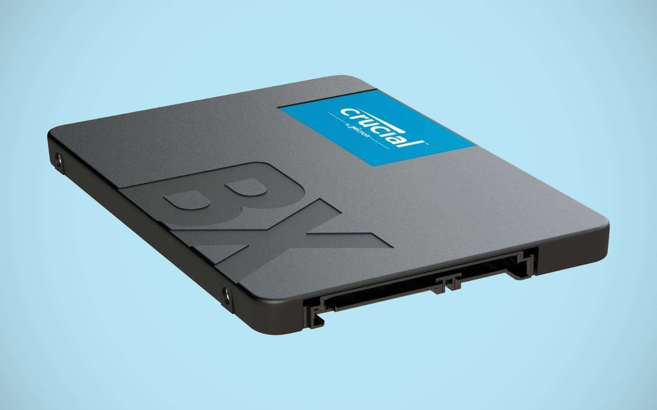 Two 240 GB SSDs on offer for 29.99 euros