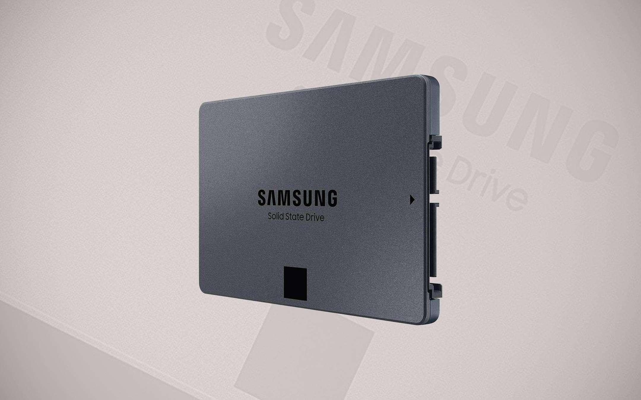 Samsung 870 QVO: 1 TB SSD for less than 100 euros