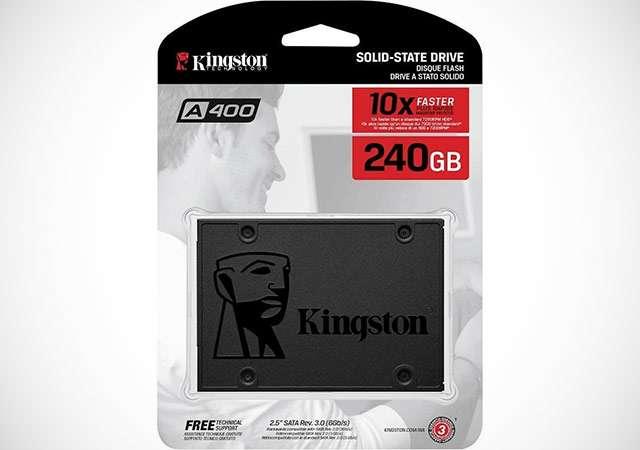 L'unità SSD da 240 GB della linea Kingston A400