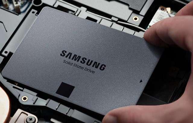 L'unità SSD della serie 870 QVO