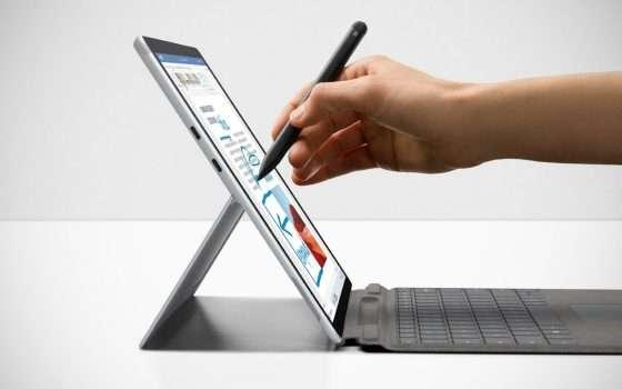 Il nuovo Surface Pro X con Microsoft SQ 2