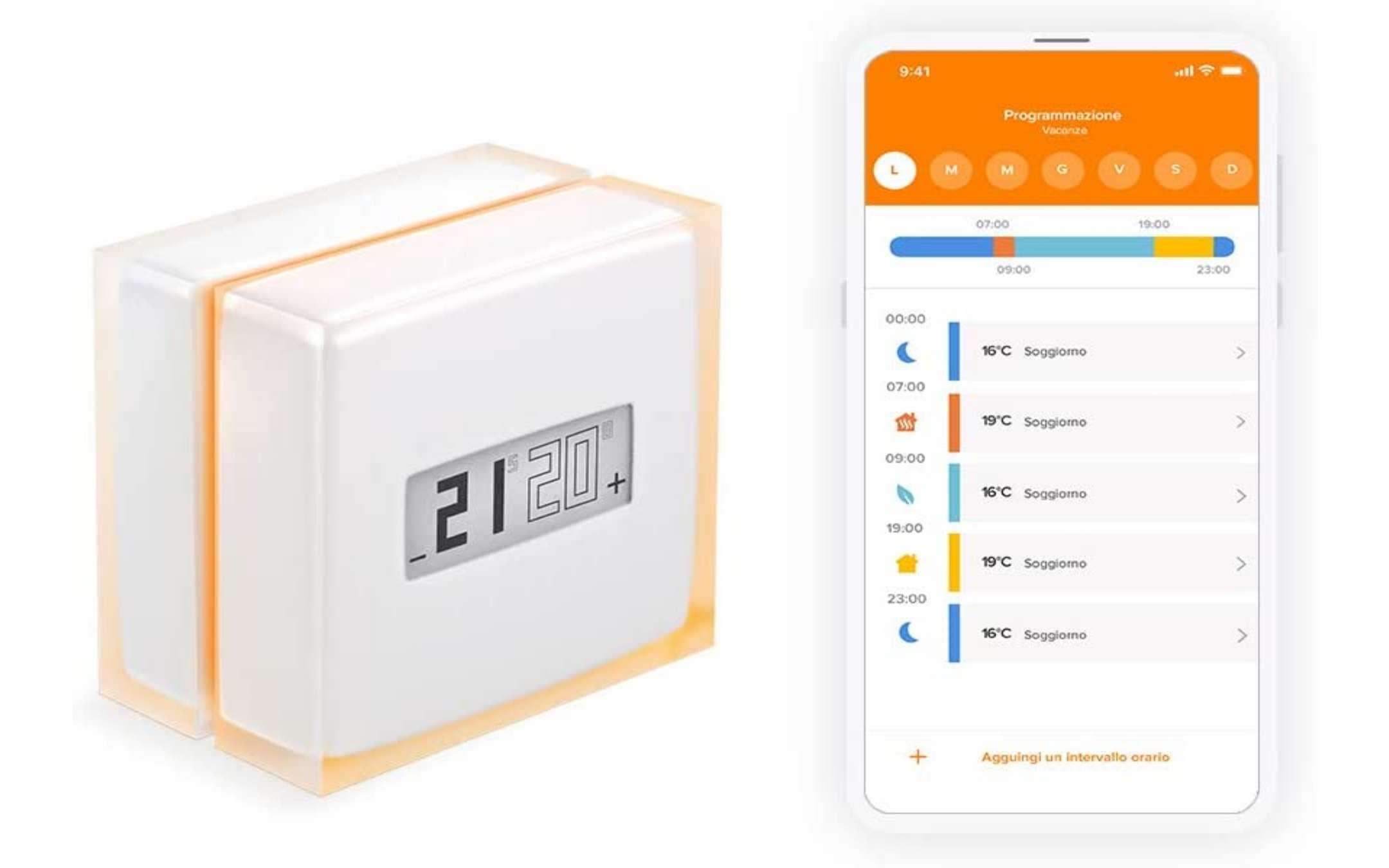 Netatmo thermostat: up to 110 € of Amazon vouchers