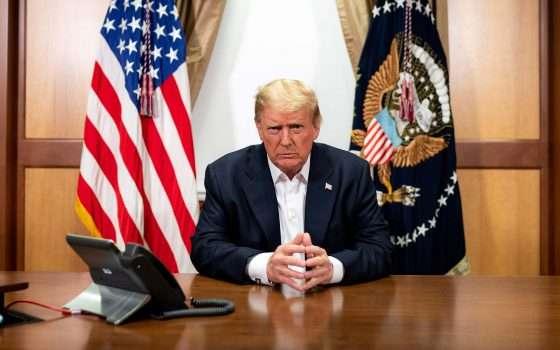 Trump sui social: COVID meno letale dell'influenza