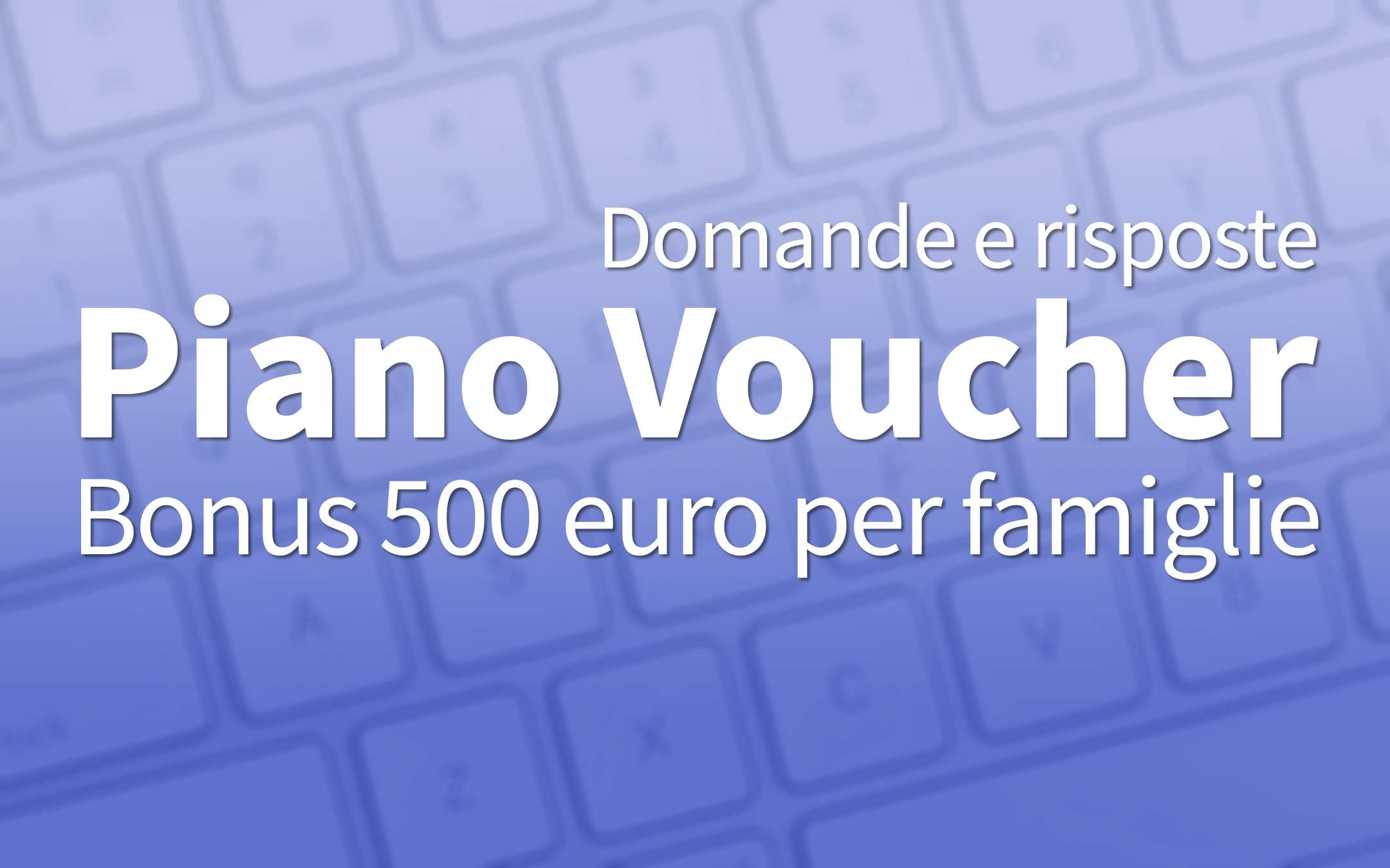 500 euro PC and Internet bonus: questions and answers