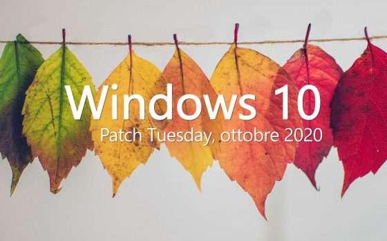 Windows 10: il Patch Tuesday di ottobre in download