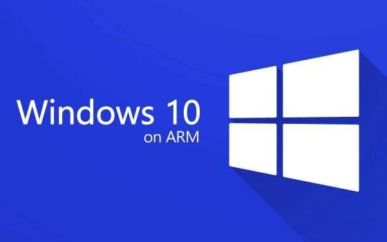 Windows 10 on ARM: ufficiale l'emulazione x64