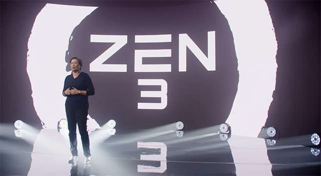 La presentazione dei nuovi processori AMD Ryzen con architettura Zen 3