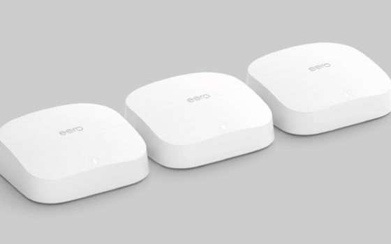 Wi-Fi Mesh Amazon eero: più di 100€ di sconto