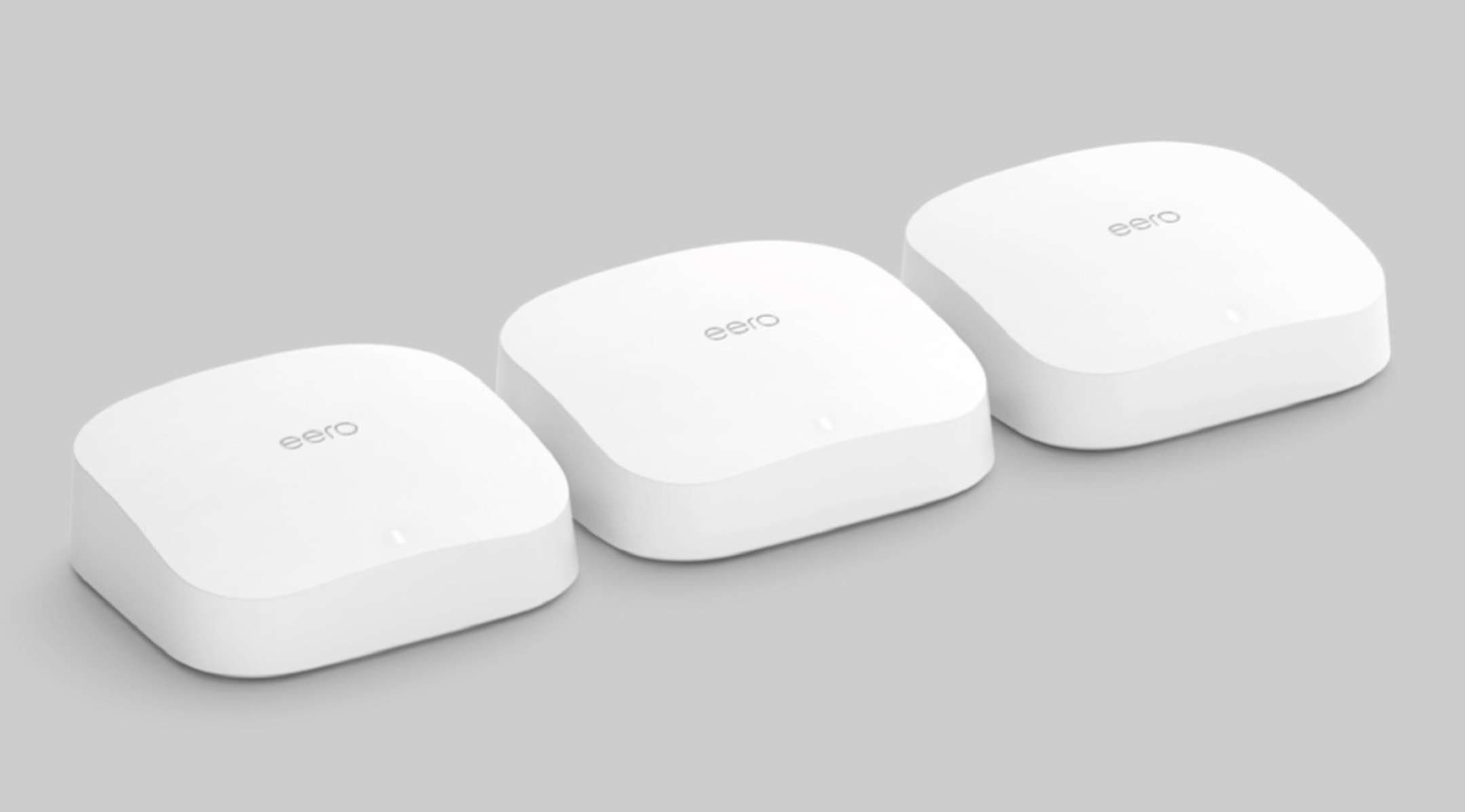 Amazon eero: one or three? No problem, both kits are on offer!