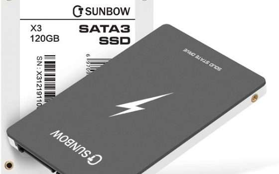 SSD TCSUNBOW 120GB - 1
