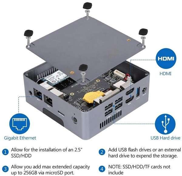 Mini PC AWOW Ak34 - 1