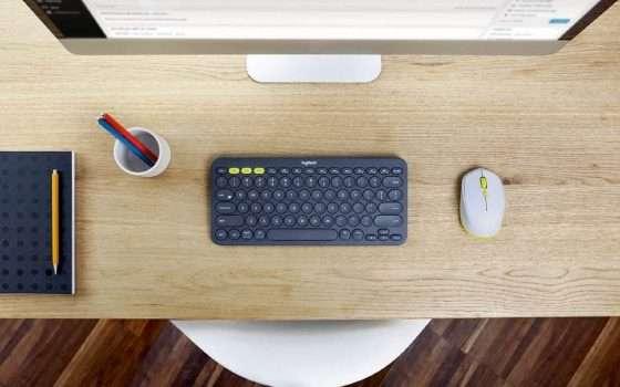 Tastiera Logitech per PC, Tablet e smartphone a soli 29,99€