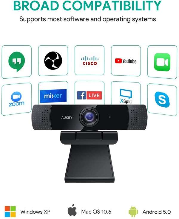 Webcam Aukey PC-LM1E - 2