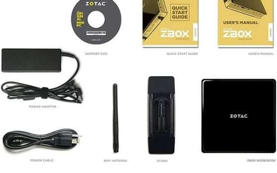 Mini PC Zotac ZBOX-B329 - 1