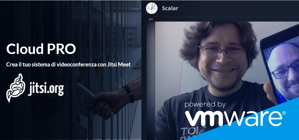 Aruba Cloud PRO: a Virtual Server with Jitsi Meet