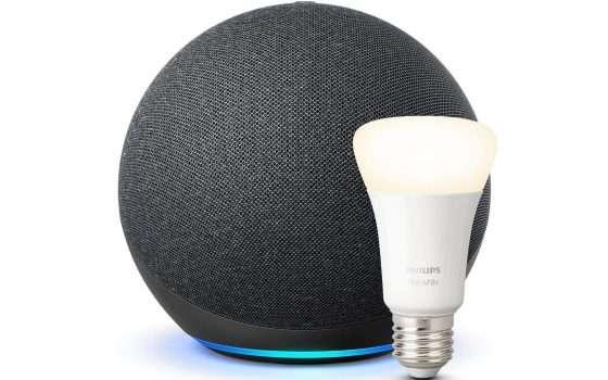 Amazon Echo e Philips Hue insieme a soli 77,99€