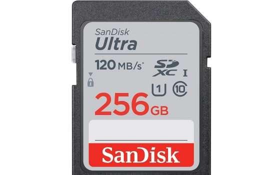 SanDisk Ultra SD da 256 GB a soli 34,99€
