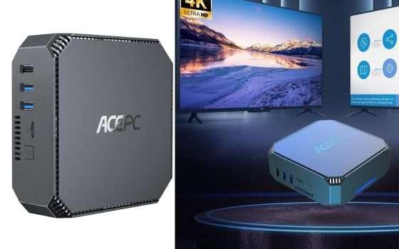 Mini PC 4 core dual monitor a meno di 200€ per il Black Friday