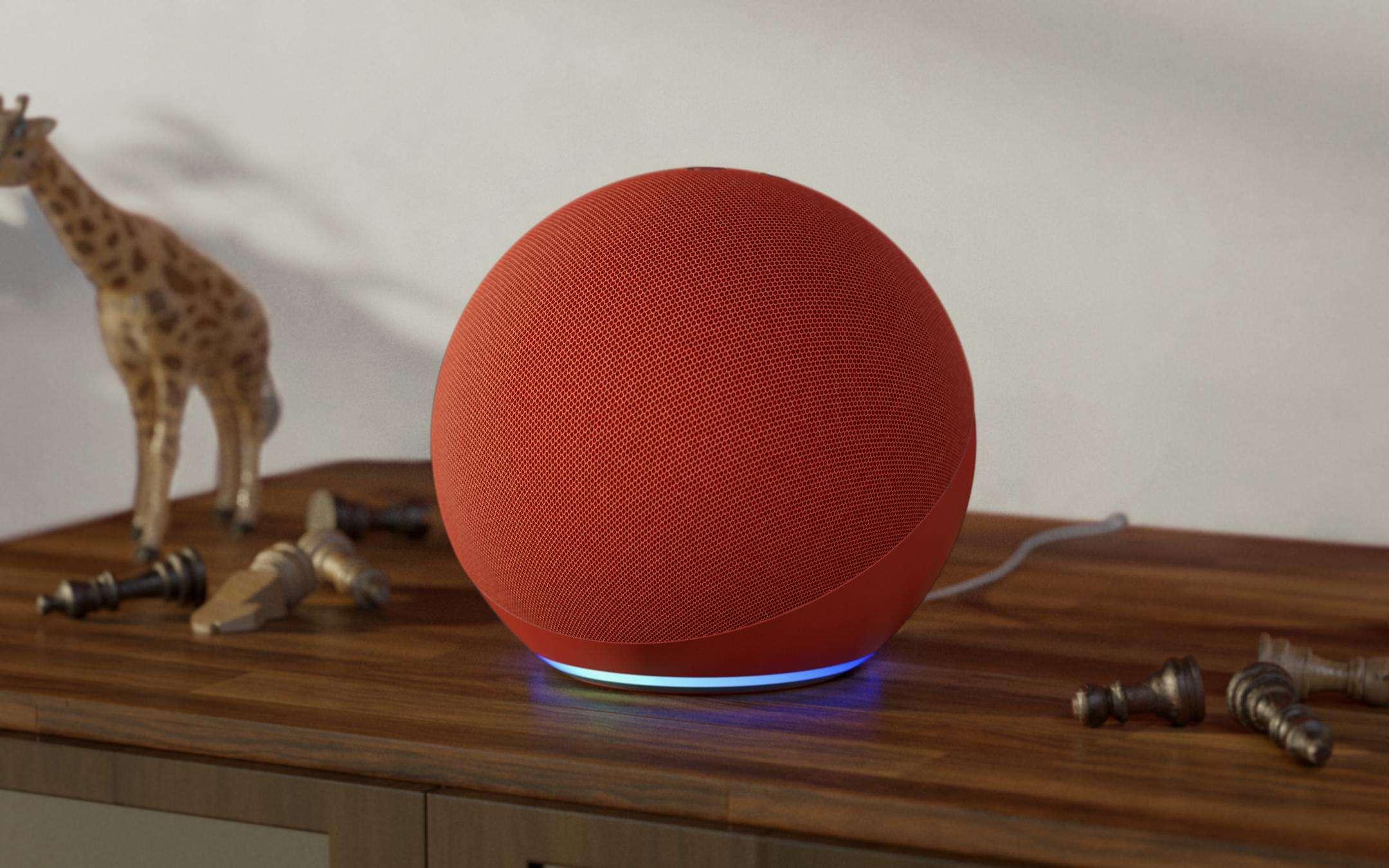 Aggiungi colore (RED) e significato al tuo Amazon Echo