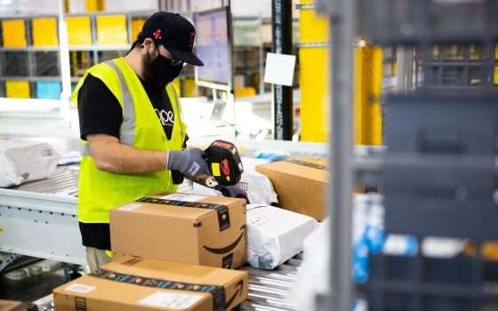 Amazon ha assunto 2600 persone in Italia nel 2020