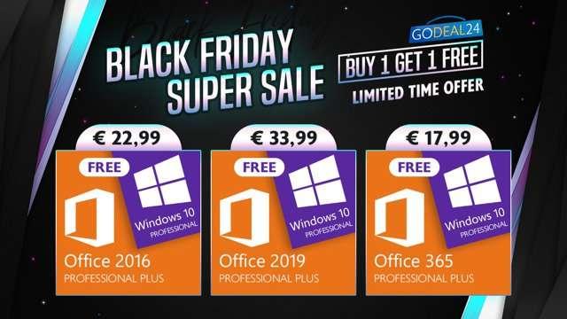 Black Friday con GoDeal24