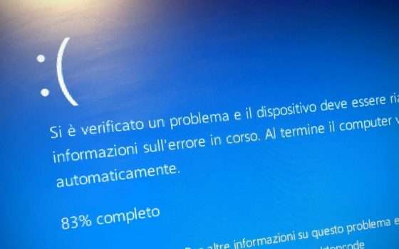 Windows 10: torna l'incubo Blue Screen of Death