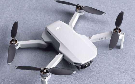 DJI Mini 2: solo 249 grammi per il nuovo drone 4K