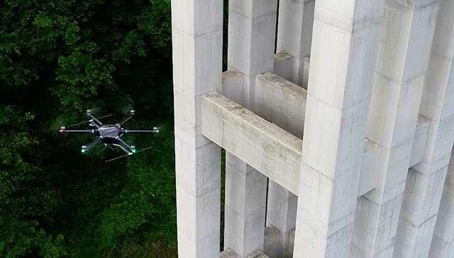 Droni di Autostrade per l'Italia